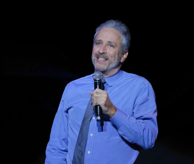 Comedian Jon Stewart Performs On Stage During The 11th Annual Stand Up For Heroes Benefit