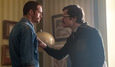 See Alexander Skarsgard, Michael Shannon Talk 'Little Drummer Girl,' Filming at Acropolis