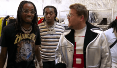 Watch Migos Take James Corden Shopping on 'Carpool Karaoke'