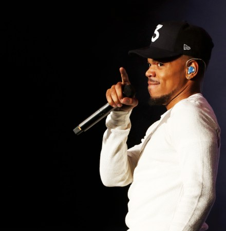 Chance the Rapper at Obama Summit, Chicago 2017