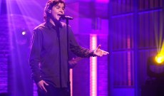 Watch Lukas Graham Swoon Through 'Love Someone' on 'Seth Meyers'