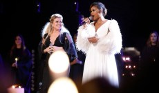 Watch Kelly Clarkson, Jennifer Hudson Sing 'O Holy Night' on 'The Voice'