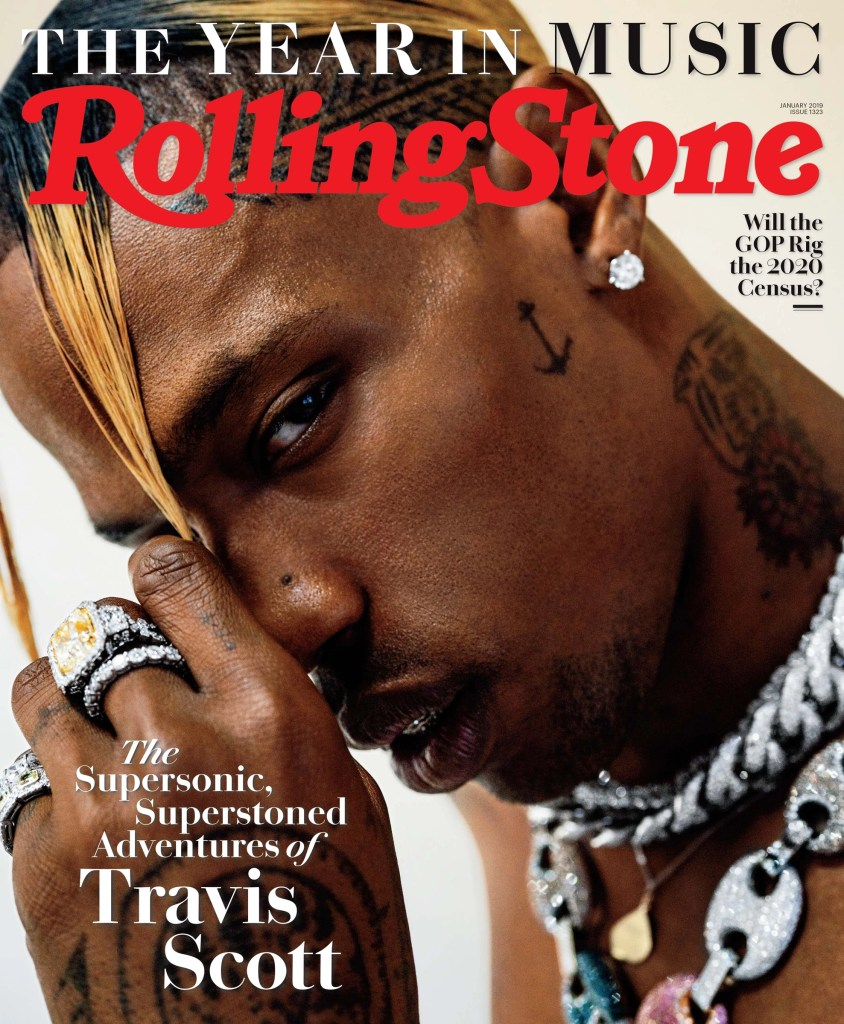 Travis Scott Cover Story In Orbit With Raps Newest