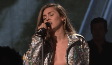 'SNL': Watch Miley Cyrus Perform 'Nothing Breaks Like a Heart' With Mark Ronson