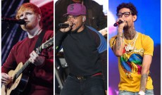 Hear Ed Sheeran, Chance the Rapper, PnB Rock's New Song 'Cross Me'