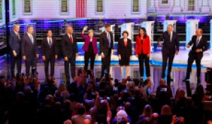 7 Memorable Dunks from the First Night of the Democratic Debates
