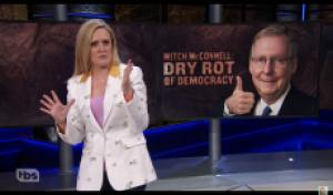 Samantha Bee Blasts Mitch 'Dry Rot of Democracy' McConnell