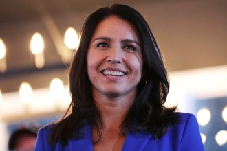 Tough Night for Tulsi Gabbard