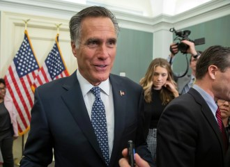 Mitt Romney Bravely Criticizes Trump on Twitter Using the Pseudonym 'Pierre Delecto'