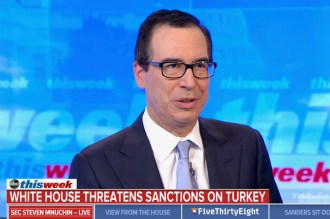 Mnuchin Confronted About Trump's Nonsensical Kurds 'Didn't Help us in Normandy' Comment