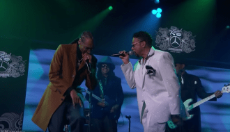 Watch Snoop Dogg Join Morris Day for 'Lil Mo Funk' on 'Kimmel'