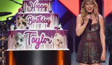 Taylor Swift Celebrates Her 30th Birthday With Joyous Jingle Ball Set