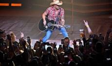 Jason Aldean Addresses Route 91 Survivors at Las Vegas Concert