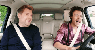 See Harry Styles Lead Carpool Karaoke as 'Late Late Show' Guest Host