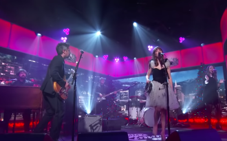 Watch She & Him's Festive Performance of 'Christmas Day' on 'Kimmel'