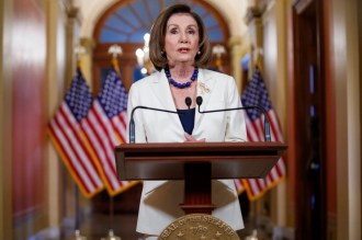 Pelosi Says House to Proceed With Articles of Impeachment Against Trump