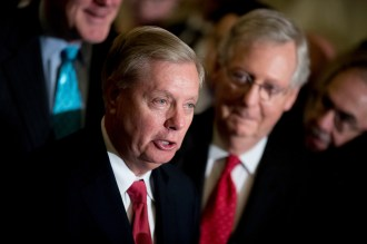 Trump Sycophant Lindsey Graham: 'I Will Do Everything I Can to Make Impeachment Die Quickly' in Senate