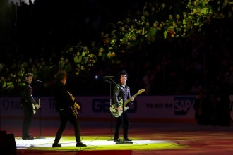 Watch Green Day's Expletive-Filled NHL All-Star Game Performance