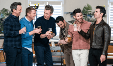 Watch the Jonas Brothers Go Day Drinking With Seth Meyers