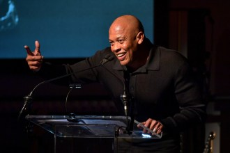 Dr. Dre Honored at Grammy Week Kickoff Event