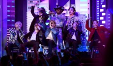 See Lil Nas X Perform 'Old Town Road' With BTS, Diplo, Nas at 2020 Grammys