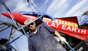 Flat Earth-Believing Daredevil 'Mad Mike' Hughes Dies When Self-Made Rocket Crashes