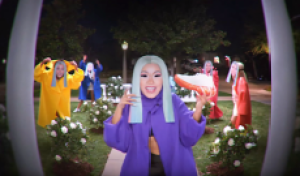 Cardi B Shilling Shoes Via a Doorbell Camera Show is the Strangest Thing You'll See This Week