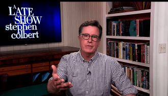 Stephen Colbert Tells Trump 'Do Your Damn Job'