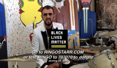 Ringo Starr Celebrates His 80th Birthday with Peace, Love, and Black Lives Matter