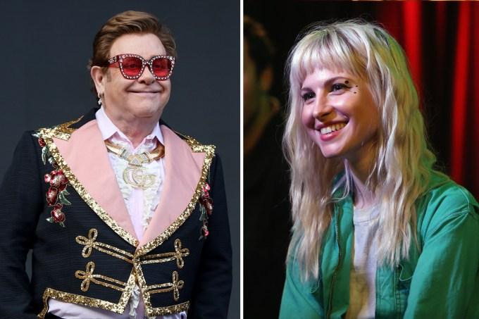 Elton John & Hayley Williams