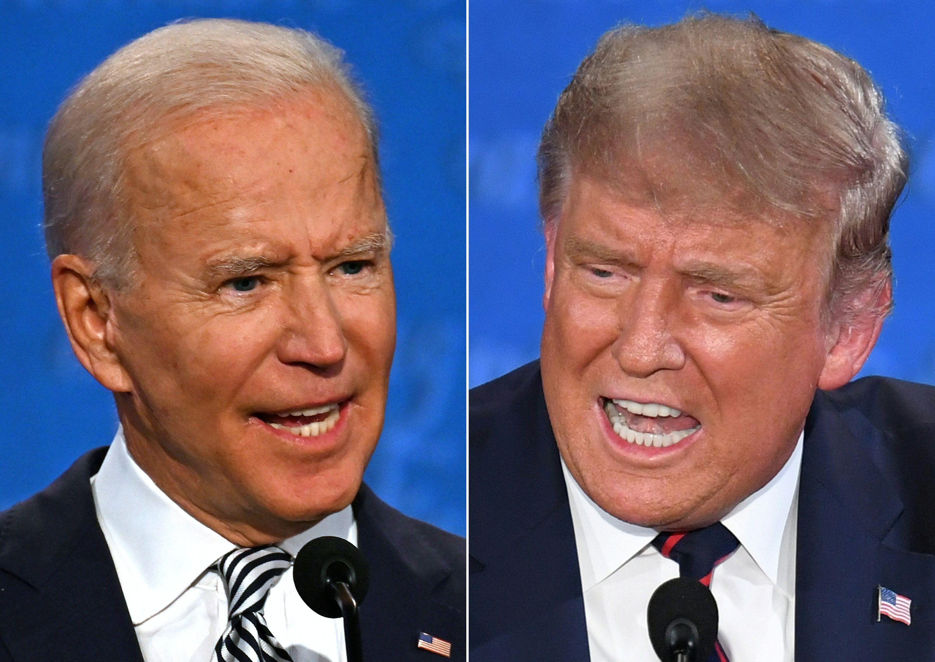 First Presidential Debate Highlights Trump And Biden