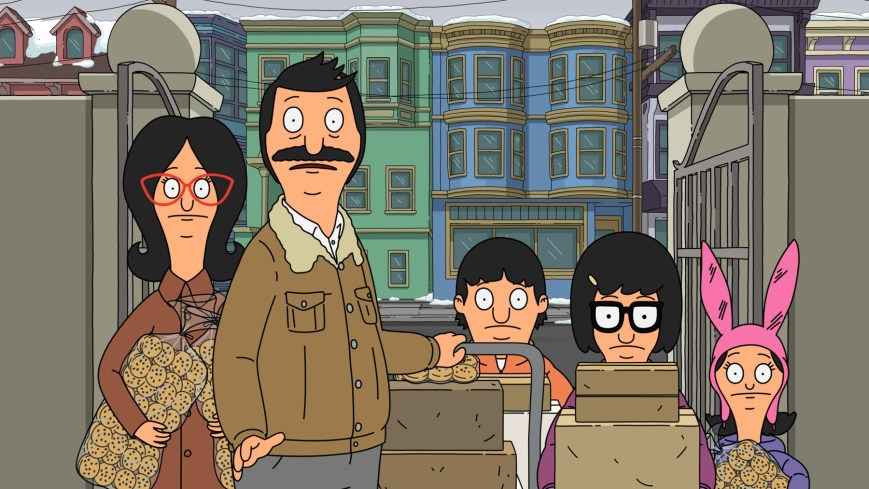 """BOB'S BURGERS: When the Belchers get an unexpected invitation to cater the Glencrest Yacht Club's holiday boat parade, Bob wonders if there's a catch. Meanwhile, Louise has her eye on the present-loaded Santa Schooner in the """"Yachty or Nice"""" holiday-themed episode of BOB'S BURGERS airing Sunday, Dec. 13 (9:00-9:30 PM ET/PT) on FOX. BOB'S BURGERS © 2020 by Twentieth Century Fox Film Corporation."""