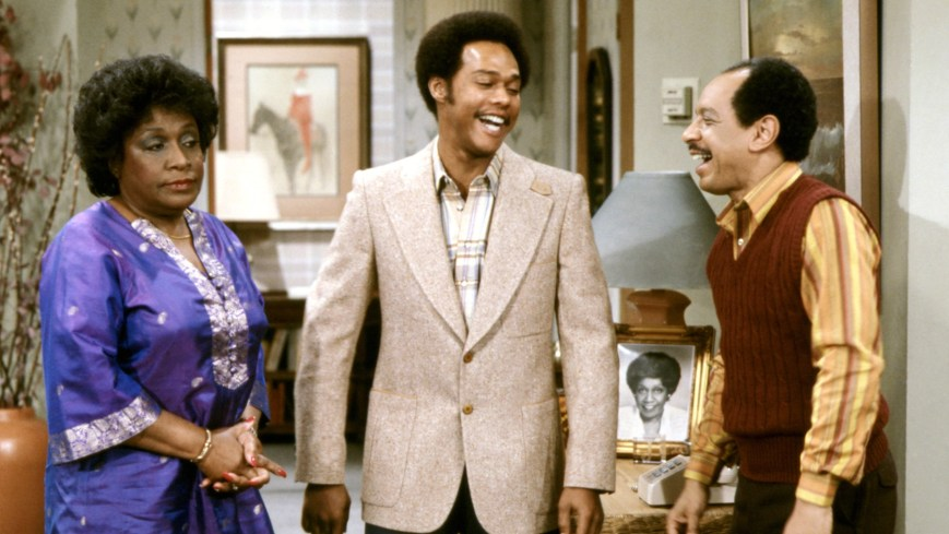 THE JEFFERSONS, Isabel Sanford, Mike Evans, Sherman Hemsley, 1975-85, © CBS / Courtesy: Everett Collection