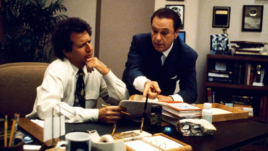 The Larry Sanders Show (HBO) TV Series1992-1998Shown from left: Garry Shandling (as Larry Sanders), Rip Torn