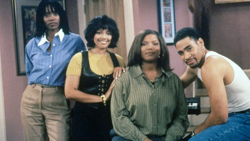 LIVING SINGLE, from left: Erika Alexander, Kim Coles, Queen Latifah, Mel Jackson, 1993-1998. Photo: Joan Adlen / ©Fox / Courtesy Everett Collection