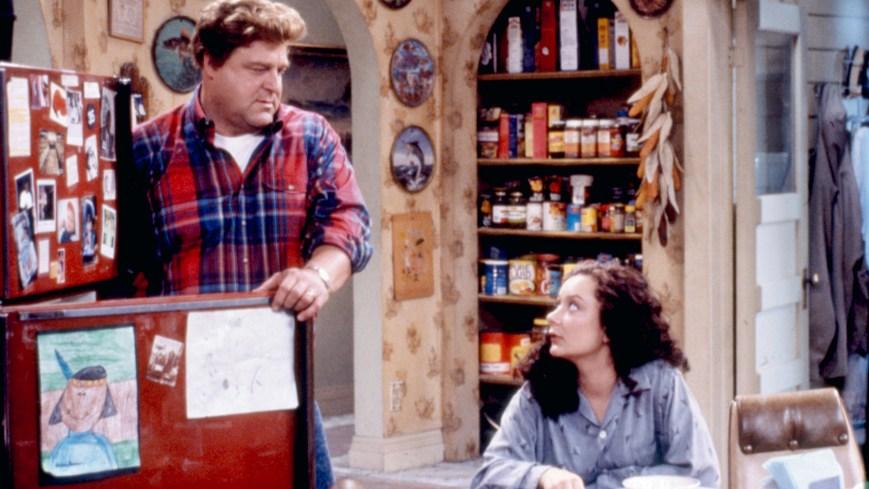 ROSEANNE, John Goodman, Sara Gilbert, Season 6, Ep. 'Homeward Bound', 1988-1997. © Carsey-Werner / Courtesy: Everett Collection.