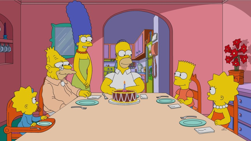 THE SIMPSONS: Bart finds his old teacherís diary and learns a surprising secret. Then, Lisa discovers an even bigger surprise in the ìDiary Queenî episode of THE SIMPSONS airing Sunday, Feb. 21 (8:00-8:30 PM ET/PT) on FOX. THE SIMPSONS © 2021 by Twentieth Century Fox Film Corporation.