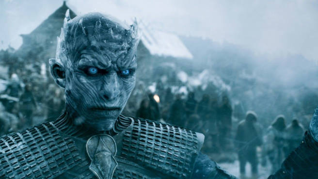 "Ein White Walker aus ""Game Of Thrones"""