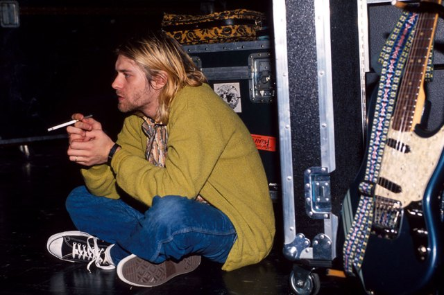 Kurt Cobain of Nirvana (Photo by Kevin Mazur Archive 1/WireImage)