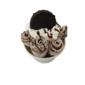 ice cream rolls oreo, oreo ice cream roll, roll me up,ice rolls,ice cream roll near me
