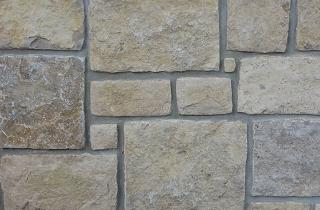 Seneca Limestone® buff square-rectangular