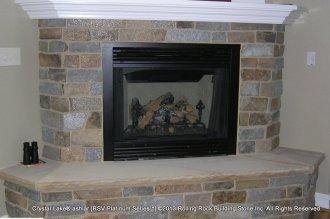 Crystal Lake® ashlar Thin Veneer Stone