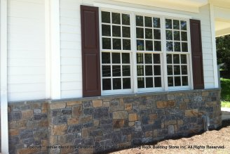 Foxcroft™ ashlar blend Thin Stone Veneer