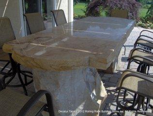 Polished Sandstone Table-001
