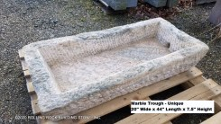 Marble Trough-Unique 2