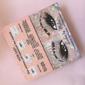 Eyelash packaging box
