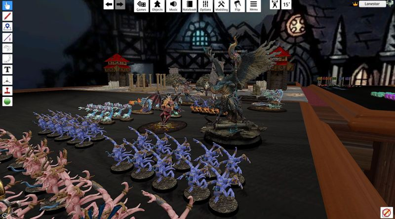 Tabletop simulator screenshot AOSigmar