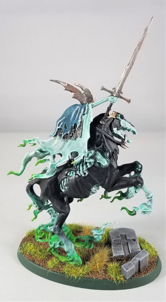 nighthaunt lord of shrouds on ethereal steed