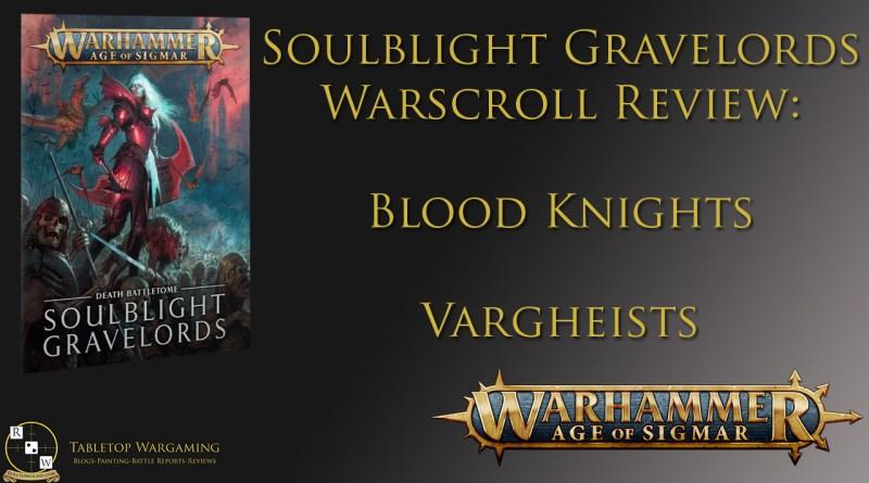 Tactics Blood knights vargheists