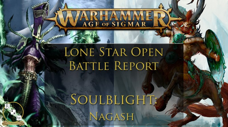 Tournament Battlereport nagash